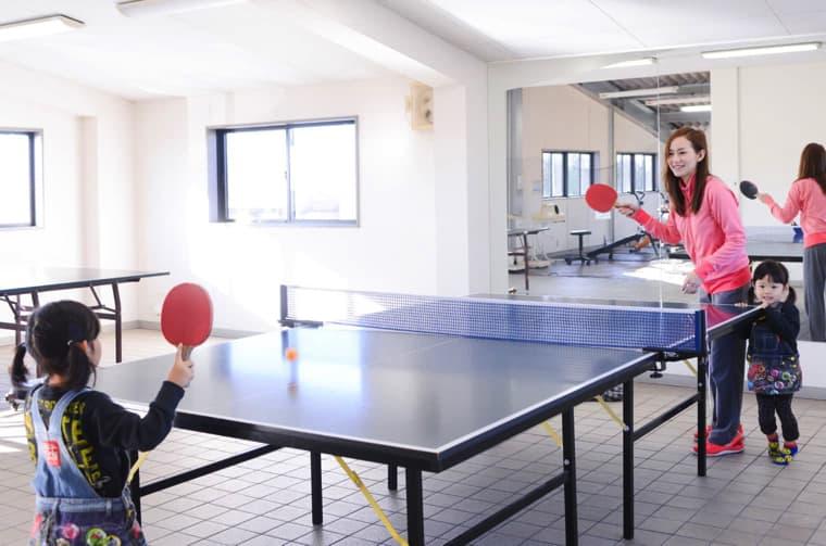 卓球の写真